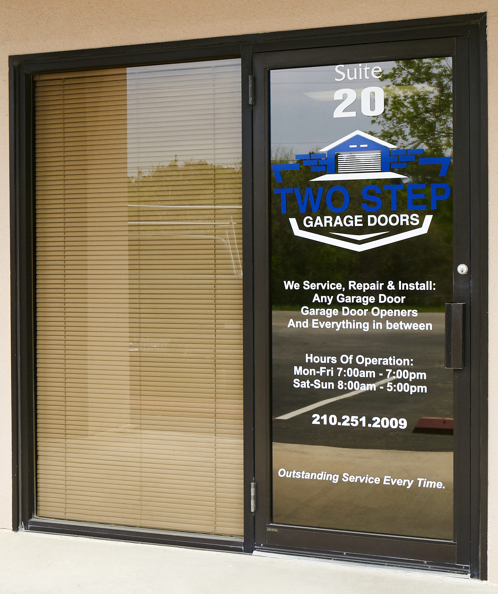 Two Step Garage Doors company pic